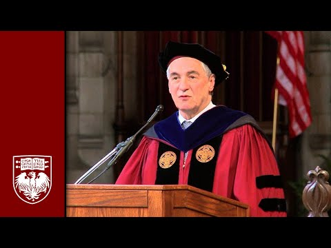 The 525th Convocation, University Ceremony - The University of Chicago