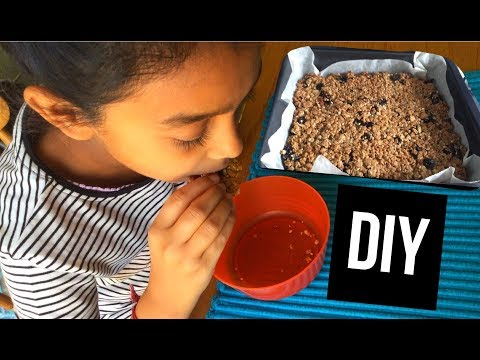 DIY: easy flapjacks!