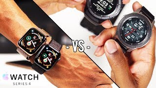 Apple Watch Series 4 vs Samsung Galaxy Watch Real Review & User Experience