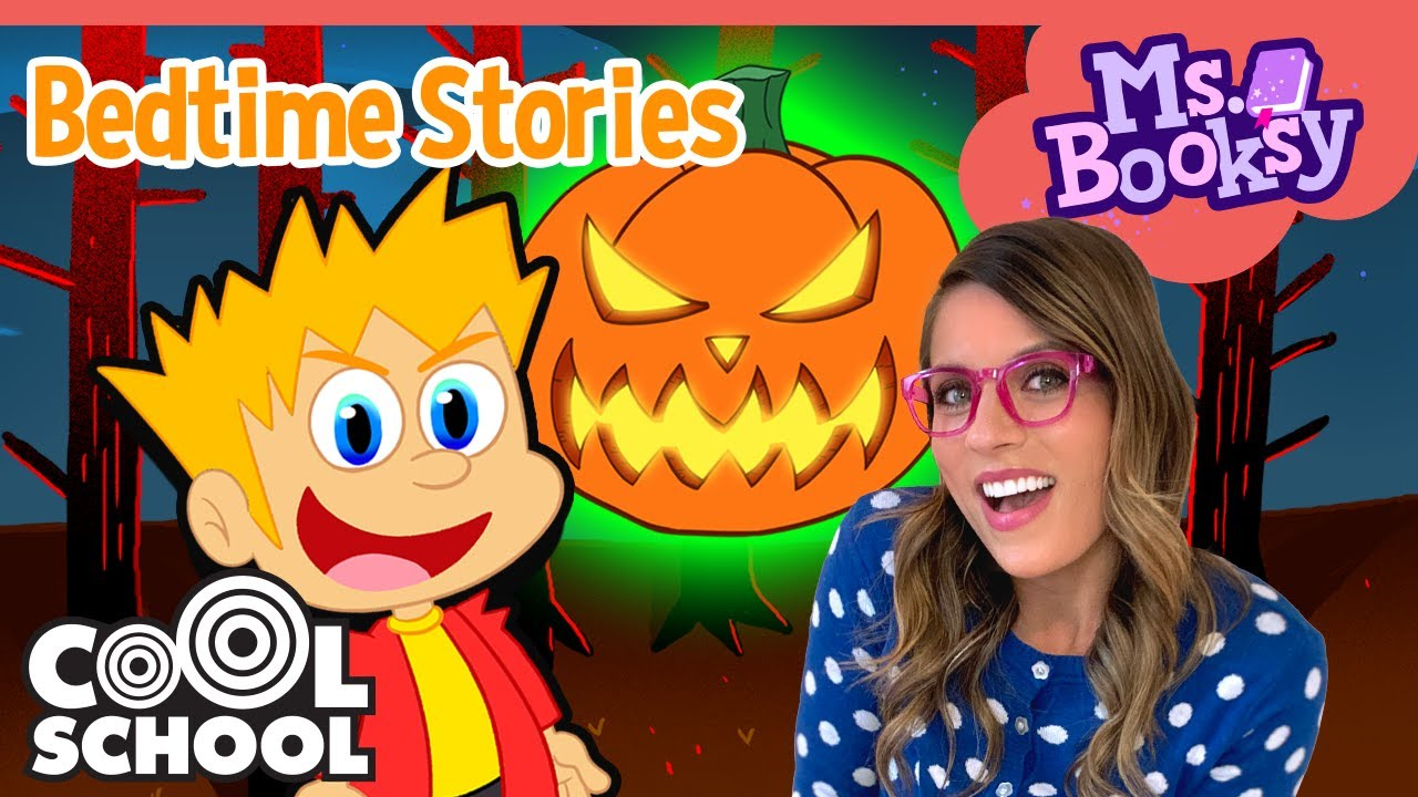 🎃THE SPOOKY STORY OF JACK O LANTERN! Pt 1🎃 Halloween Stories for Kids   Ms. Booksy Bedtime Stories