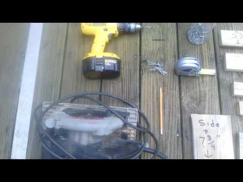 pigeon feeder from scraps