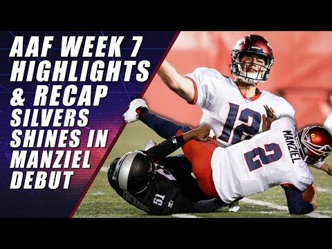 AAF Week 7 Highlights & Recap