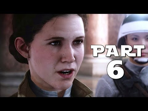 STAR WARS BATTLEFRONT 2 Walkthrough Gameplay Part 6 - Leia - Campaign Mission 6 (BF2 Battlefront II)