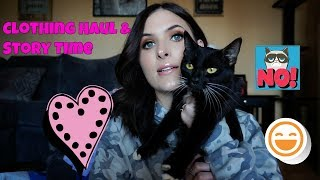 Clothing Haul & Story Time