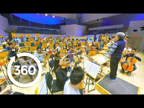 Let's Go Places: Florida   A Whole New World Symphony (360 Video)