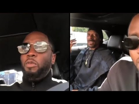Diddy & Snoop Dogg Hang Around In LA And Visit Bishop Don Magic Juan