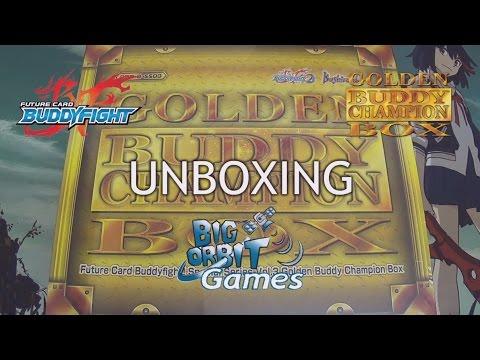Future Card Buddyfight Golden Buddy Champion Box Unboxing