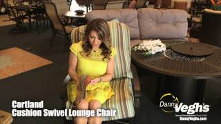 Cortland Cushion Lounge Chair At Danny Veghs