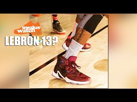 Did LeBron James Just Preview the Nike LeBron 13?
