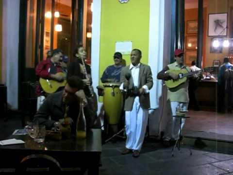 Cuban music in Old Havana
