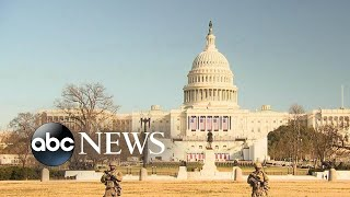 Over 25,000 National Guardsmen deployed to DC in wake of Capitol riot