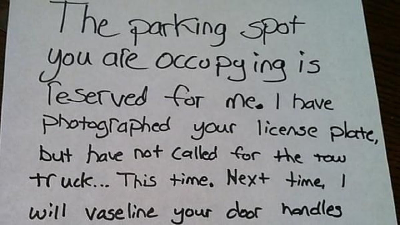 most hilarious windshield notes you have to see - you'll laugh so hard when  you see these