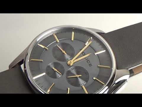 cb428fe26b POLICE(ポリス)腕時計 COURTESYコーテシー グレー/イエローゴールド【14701JS-61】