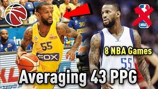 He's Averaging 43.5 POINTS A GAME Overseas But Has Only Played In 8 NBA Games!