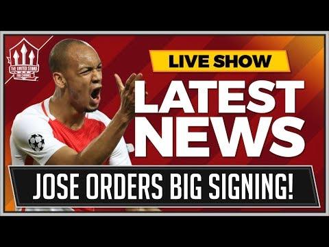 MOURINHO Demands FABINHO Manchester United Transfer! MAN UTD Transfer News