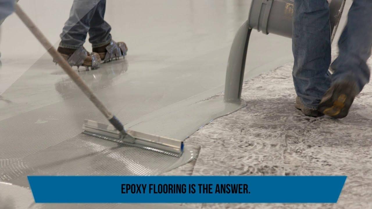 Industrial Epoxy Flooring by Liquid Floors Inc  YouTube