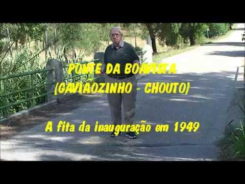 CHOUTO -  Ponte da Boavista / A Fita da Inauguração em 1949