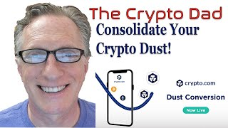 Consolidate Your Crypto Dust Using Crypto.com's New Dust Conversion Feature