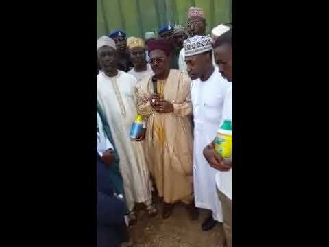Katsina State, Nigeria   Handing Over  Buildings for a Bio Plant and Pro Plant Bottling Factory