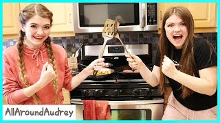 Mystery Cooking Challenge - Sister Vs Sister / AllAroundAudrey