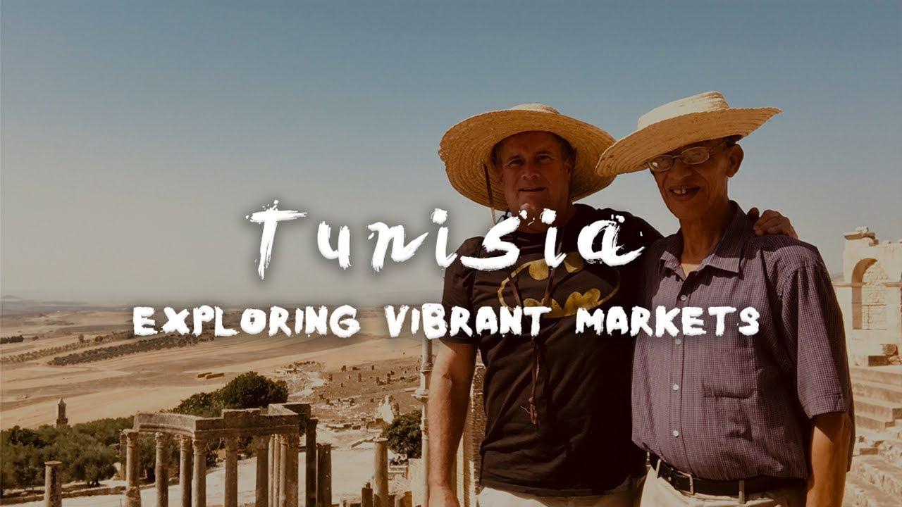 Tunisia - Exploring Vibrant Markets - Traveling in Tunis, Tunisia