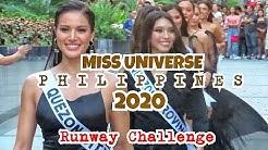 Miss Universe Philippines 2020 | RUNWAY CHALLENGE - Michelle Gumabao