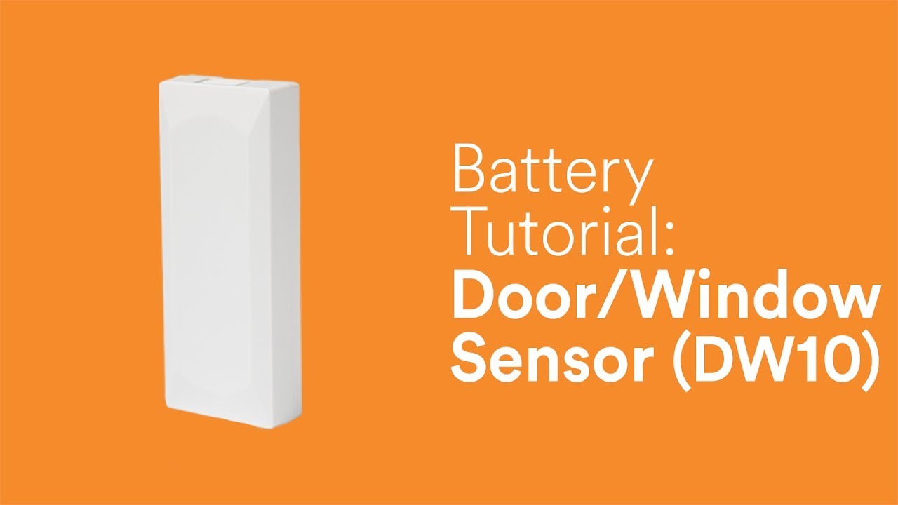 Battery Tutorial Door Window Sensor Dw 10 Youtube