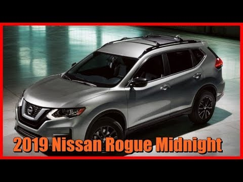 2019 Nissan Rogue Midnight Picture Gallery Youtube