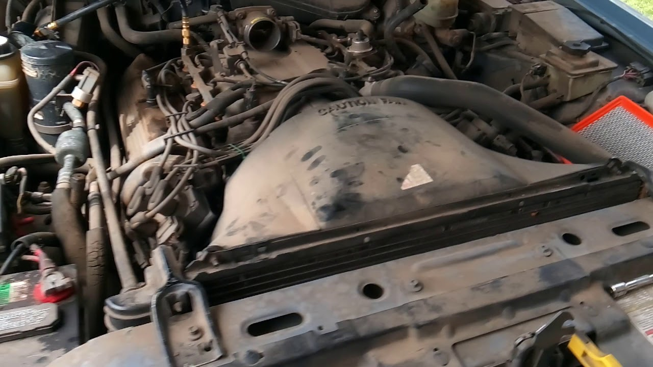 small resolution of hesitation no power diagnoses 1993 lincoln 4 6l engine