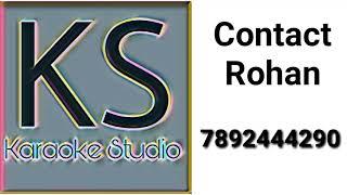 Jhana Jhana Kanchanadalli Karaoke Sampled By Rohan Contact For Full Track At 7892444290