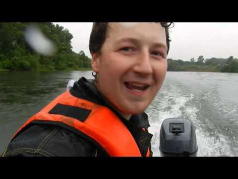 Ямаха 9,9 на лодке Караидель 5Ипп