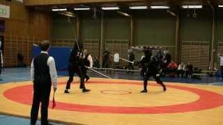 Swordfish 2013 open longsword 1/16 B. Floyd vs G. Brzeziński