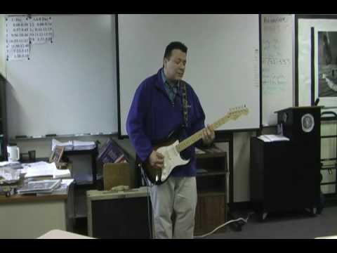 Mr. Kilpatrick (Wichita Northwest High School) performs Gravity by John Mayer