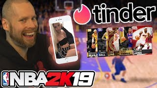 NBA 2K19 Tinder Draft