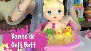 BABY ALIVE BANHO DIVERTIDO COM GELLI BAFF - JULIA SILVA