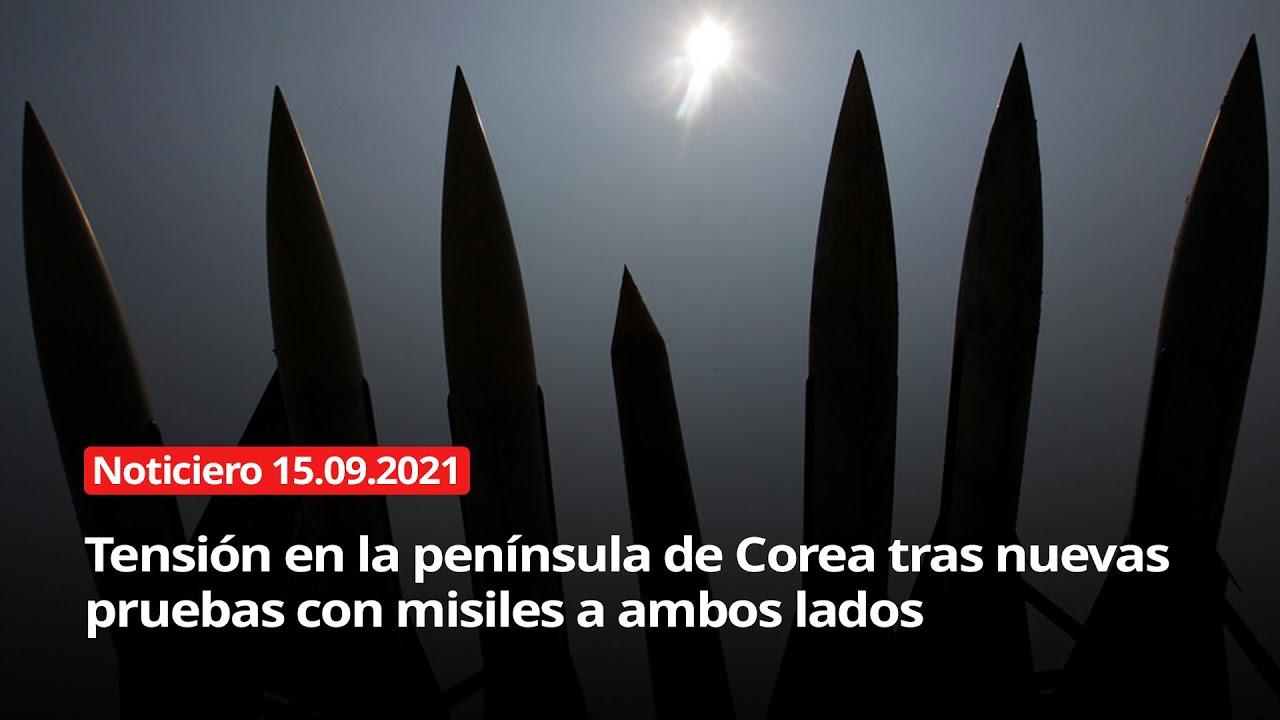 Download NOTICIERO 15/09/2021 - Tensión en la península сoreana tras nuevas pruebas con misiles a ambos lados