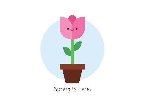 How to make a cute flower in Adobe Ilustrator-María Keller | Freepik