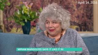 Miriam Margolyes talks Call The Midwife on This Morning