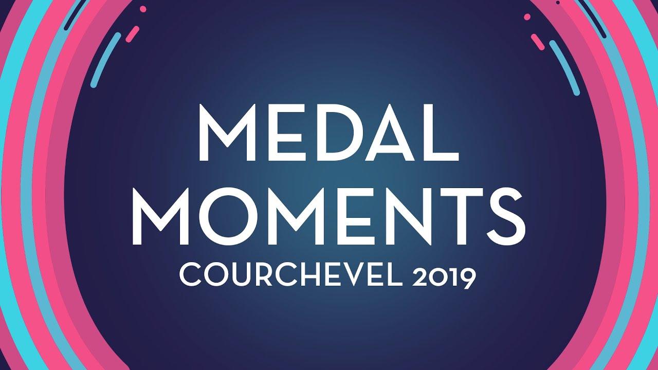 Medal Ceremony Men   Courchevel 2019