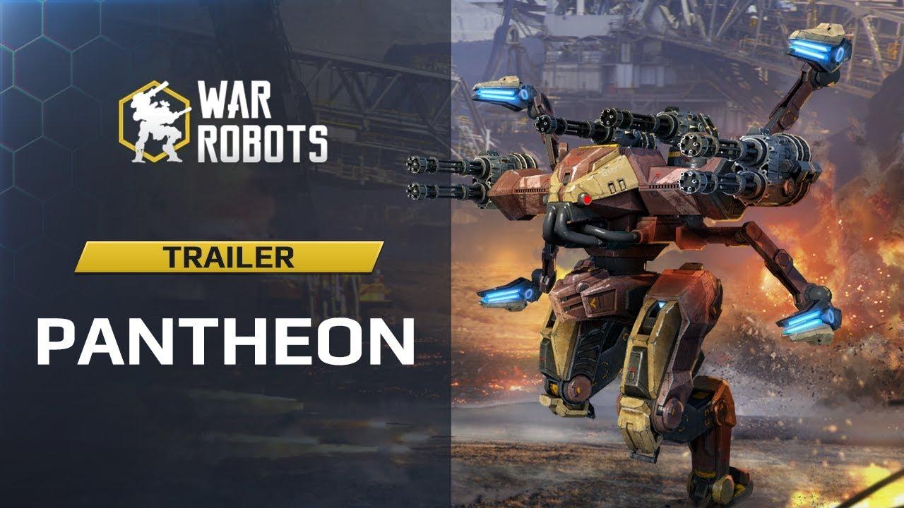 War Robots Pantheon — Ares Hades Nemesis (Trailer) | New Robots