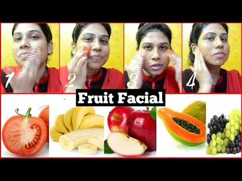 Homemade Fruit Facial For Glowing & Radiant Skin