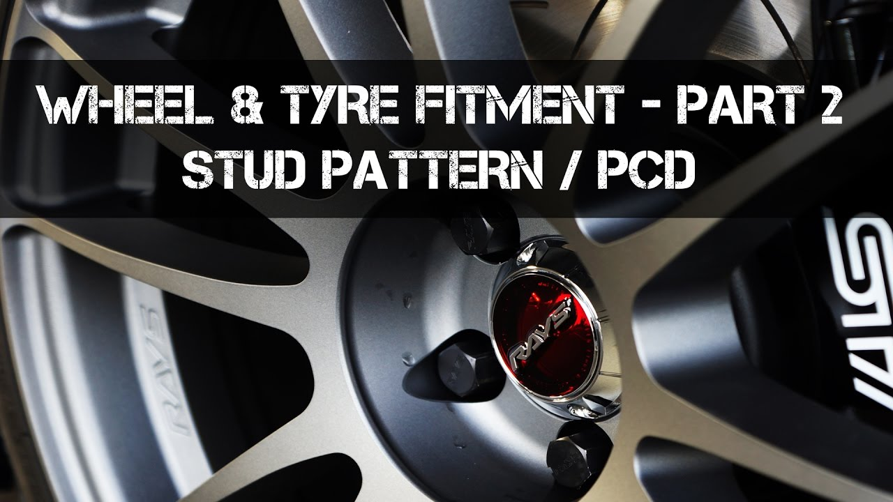 how to measure wheel pcd stud pattern complete wheel fitment guide part 2 [ 1280 x 720 Pixel ]