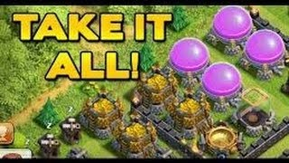 Clash of Clans:Horrible bases and AWESOME LOOT! Plus GREAT