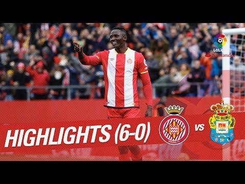 Resumen de Girona FC vs UD Las Palmas (6-0)