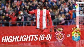 Resumen de Girona FC vs UD Las Palmas 6-0