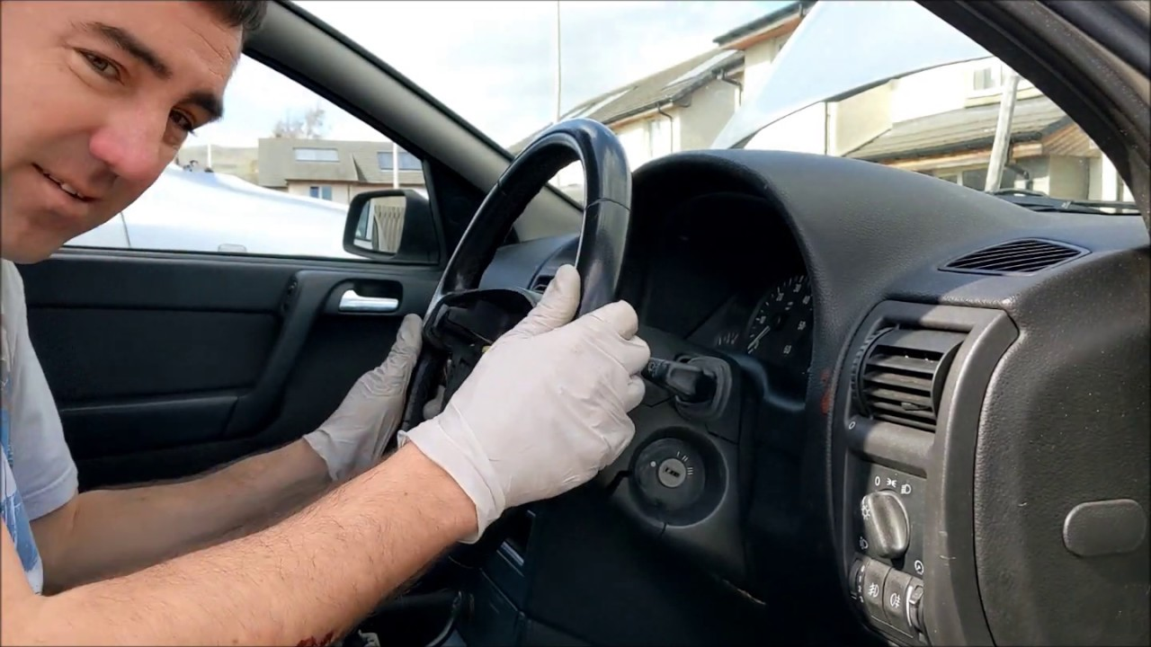 Vauxhall Astra G MK4 Drivers Airbag, Steering Wheel and ...