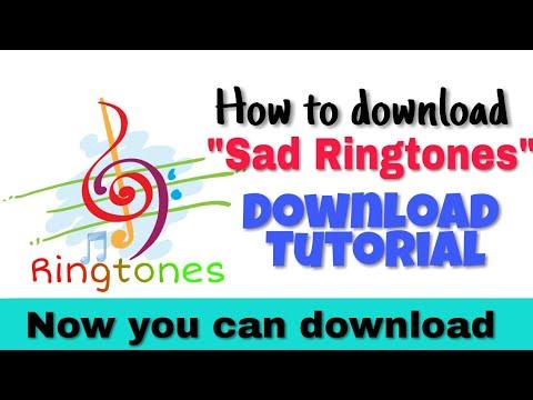 How to download Sad Ringtones | Sad Ringtones Download tutorial | Sad Ringtones
