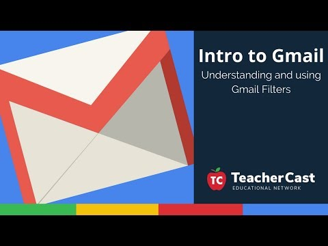 Intro to Gmail: Using Email Filters to Clean your Inbox