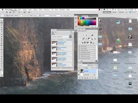 Tūtville Photoshop tutorial bookmarking system