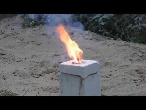 Silicon Thermite new attempt with closed container